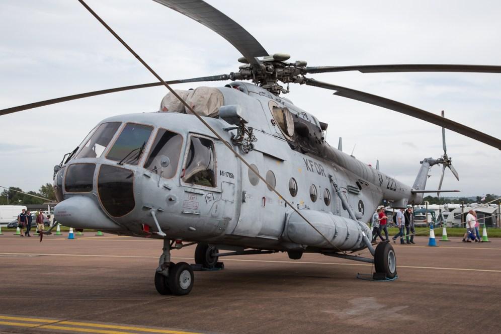 © Adam Duffield - Croatian Air Force Mil Mi-171 - Royal International Air Tattoo 2016