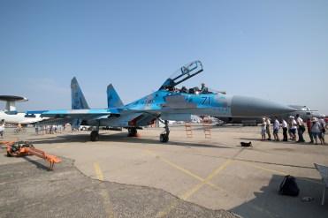 © Michael Lovering - Sukhoi Su-27UB (Blue 71), Ukrainian Air Force - Bucharest International Air Show 2016