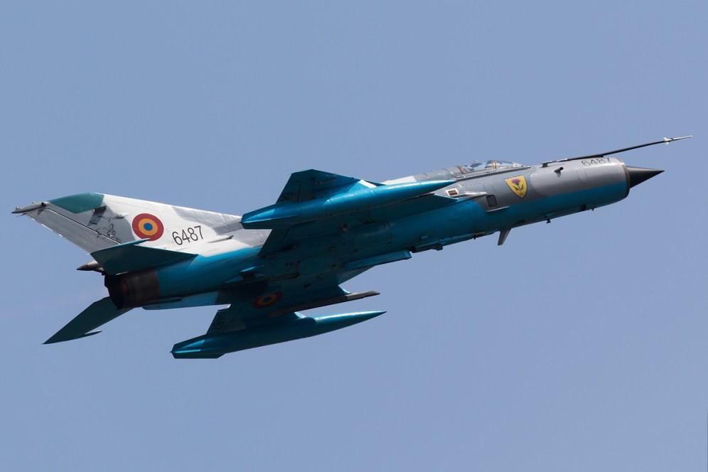 © Michael Lovering - MiG-21 LanceR C (6487), Romanian Air Force - Bucharest International Air Show 2016