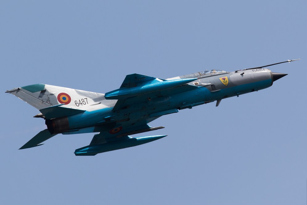 © Michael Lovering - MiG-21 LanceR C (6487), Romanian Air Force - Bucharest International Air Show 2016