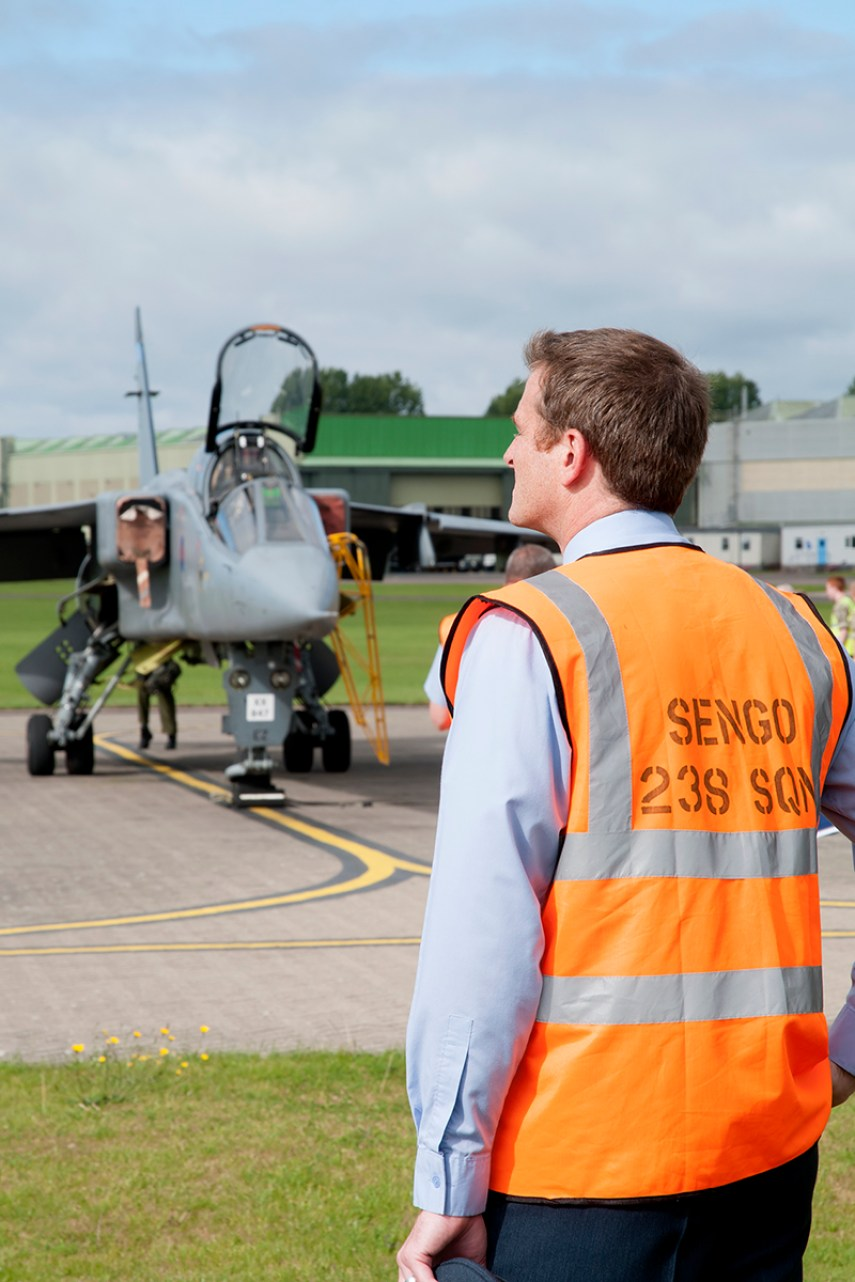© Duncan Monk - 238 Sqn Senior Engineering Office (SEngO) - RAF Cosford Jaguars final prowl