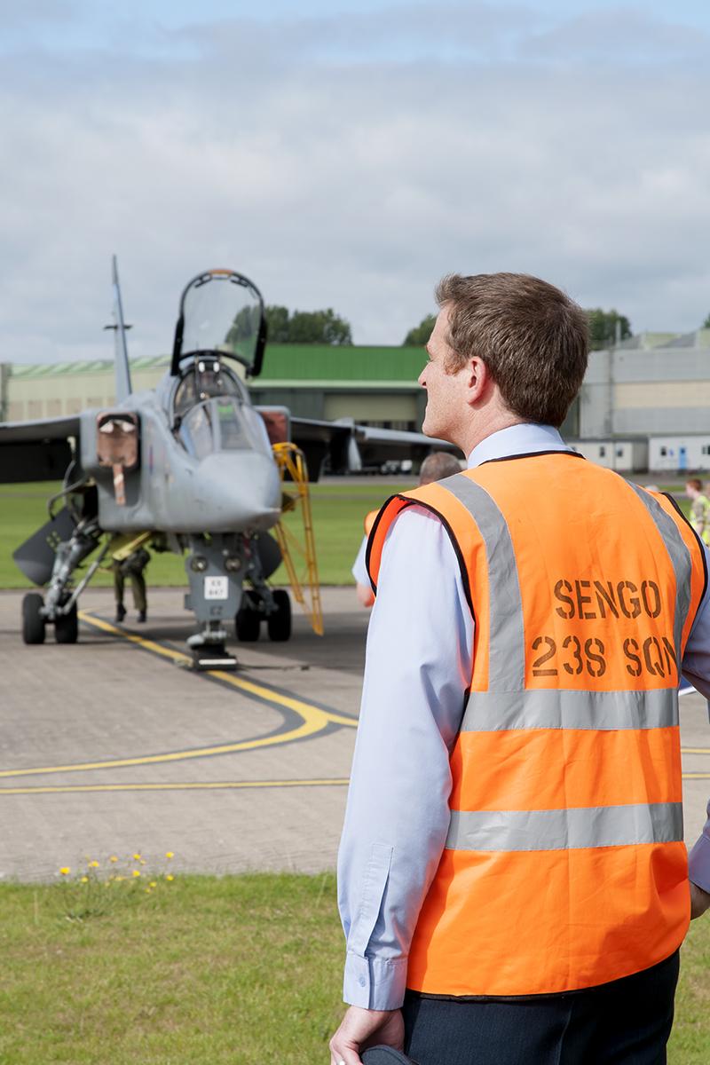 © Duncan Monk - 238 Sqn Senior Engineering Office (SEngO) - RAF Cosford Jaguars final prowl