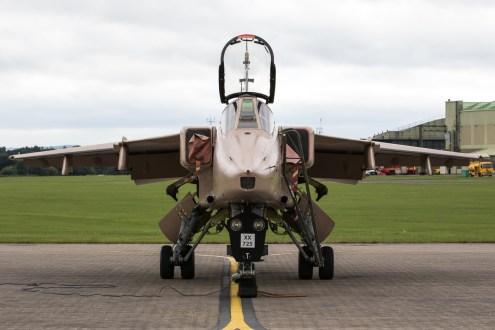 © Adam Duffield - SEPECAT Jaguar GR3 XX725 - RAF Cosford Jaguars final prowl
