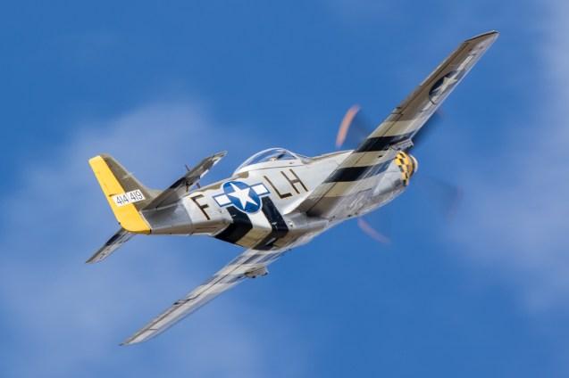 © Adam Duffield - P-51 Mustang 'Janie' - Old Buckenham Airshow 2016