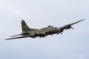© Adam Duffield - Boeing B-17G 'Sally B' - Old Buckenham Airshow 2016