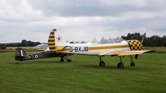 © Adam Duffield - Yak 52 G-BXJB & Auster AOP6 TW536 - Old Buckenham Airshow 2016
