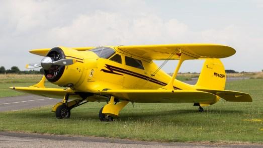 © Adam Duffield - Beechcraft Staggerwing - Old Buckenham Airshow 2016