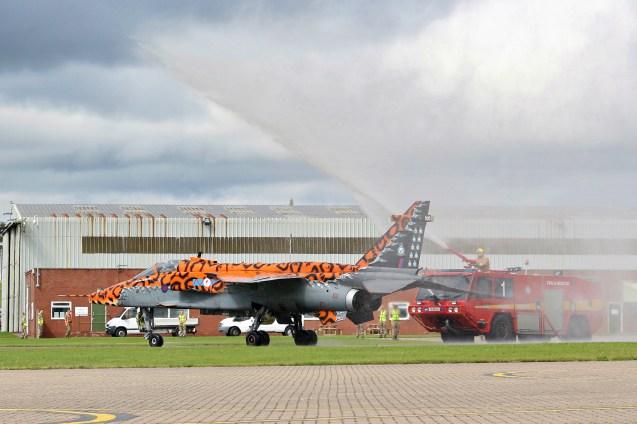 © Jamie Ewan - SEPECAT Jaguar GR3 XX119 - RAF Cosford Jaguars final prowl