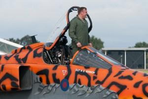 © Duncan Monk - SEPECAT Jaguar GR3 XX119 - RAF Cosford Jaguars final prowl