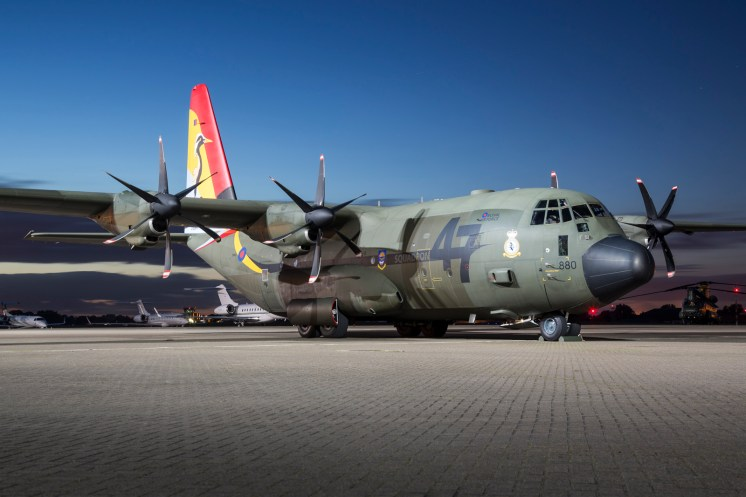 © Ben Montgomery - Royal Air Force Lockheed C-130J-30 Hercules C.5 ZH880 - Northolt Nightshoot XXI