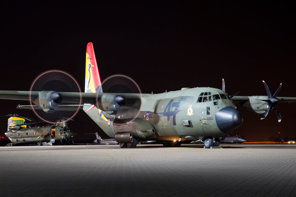 © Ben Montgomery - Royal Air Force Lockheed C-130J-30 Hercules C.5 ZH880 - Northolt Nightshoot XXI