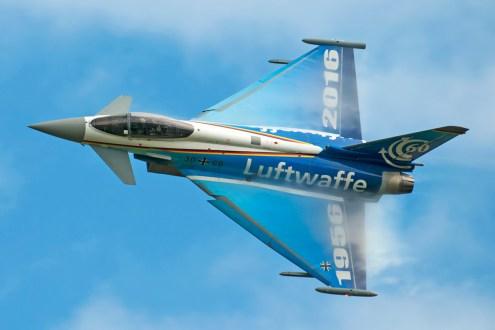 © Duncan Monk - German Air Force 60th Anniversary Luftwaffe EF2000 Eurofighter 30+68 - Ostrava NATO Days 2016