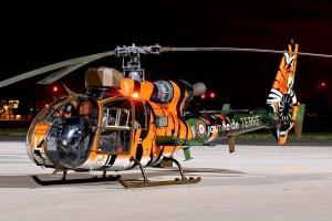 © Jamie Ewan - Armée de Terre Aerospatiale SA-342M Gazelle 3862/GAL - Northolt Nightshoot XXI