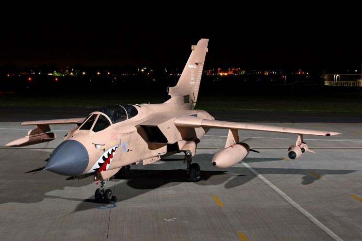 © Jamie Ewan - Royal Air Force Panavia Tornado GR4 ZG750 'Pinky' - Northolt Nightshoot XXI