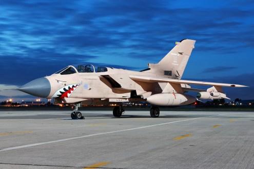 © Mark Kwiatkowski - Royal Air Force Panavia Tornado GR4 ZG750 'Pinky' - Northolt Nightshoot XXI