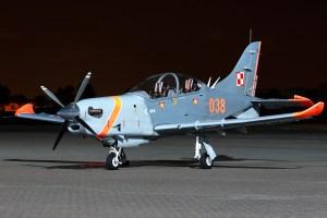 © Mark Kwiatkowski - Sily Powietrzne PZL-130TC-II Turbo Orlik 038 - Northolt Nightshoot XXI