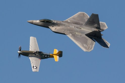 © Adam Duffield - USAF Heritage Flight - San Francisco Fleet Week 2016