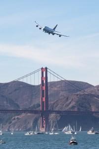 ©Adam Duffield - United Airlines Boeing 747 N104UA - San Francisco Fleet Week 2016