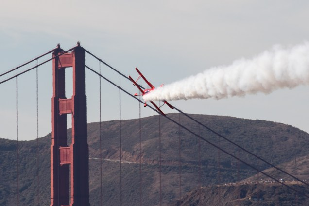 © Adam Duffield - Sean D Tucker's Oracle Challenger - San Francisco Fleet Week 2016