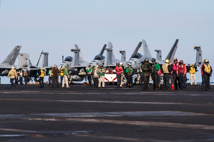 © Ben Montgomery - Flight Operations - USS Dwight D Eisenhower