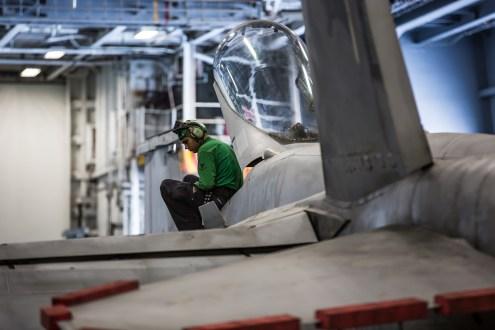 © Ben Montgomery - Boeing F/A-18C Hornet - USS Dwight D Eisenhower
