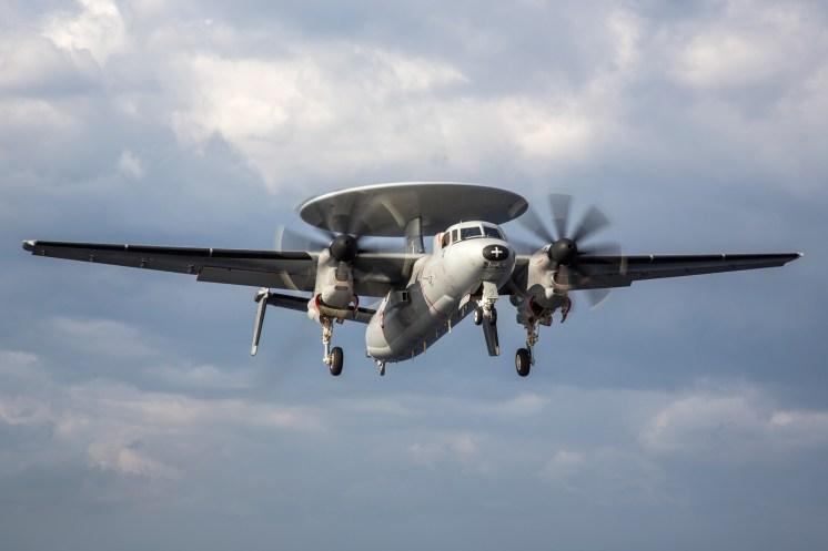 © Ben Montgomery - Northrop Grumman E-2C Hawkeye 165456/2 - USS Dwight D Eisenhower