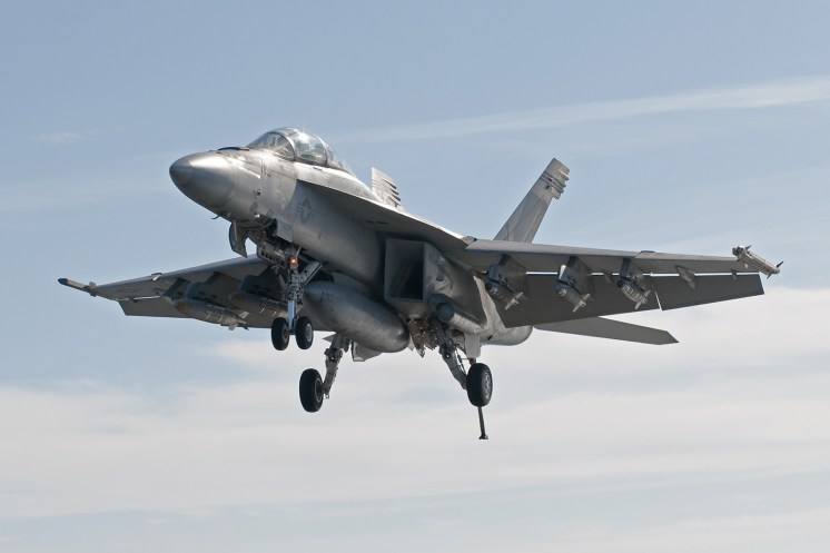 © Duncan Monk - Boeing F/A-18F Super Hornet 166454 - USS Dwight D Eisenhower