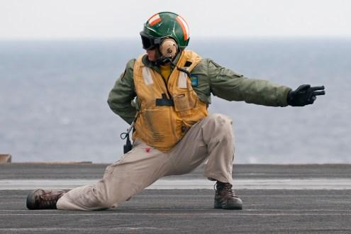 © Duncan Monk - USS Dwight D Eisenhower