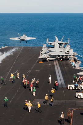 © Duncan Monk - Boeing F/A-18E Super Hornet 166651 - USS Dwight D Eisenhower