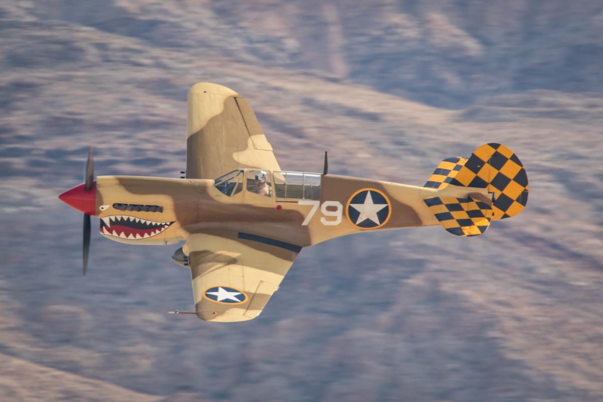 © Paul Smith - Curtiss P-40N Warhawk NL85104 - Nellis Aviation Nation 2016