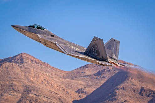 © Paul Smith - Lockheed Martin F-22A Raptor 04-4068 - Nellis Aviation Nation 2016