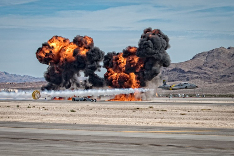© Paul Smith - Canadair CT-133 Silver Star 3 N133HH Jet Car Race - Nellis Aviation Nation 2016