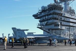 © Jamie Ewan - Boeing F/A-18E Super Hornet 166953 - USS Dwight D Eisenhower