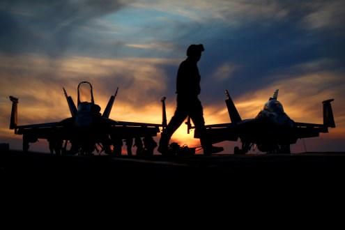 © Jamie Ewan - Boeing F/A-18 Super Hornets - USS Dwight D Eisenhower