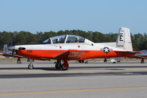 ©Mark Forest - Beechcraft T-6B Texan II 166255 TAW-5 - US Naval Air Training Command
