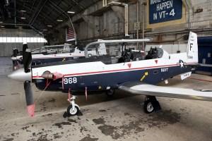 ©Mark Forest - Beechcraft T-6A Texan II 165968 TAW-6 - US Naval Air Training Command