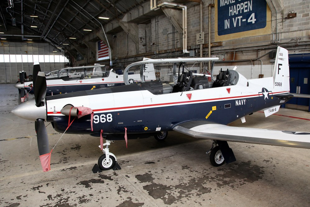 © Mark Forest - Beechcraft T-6A Texan II 165968 TAW-6 - US Naval Air Training Command