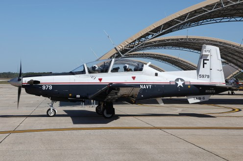 © Mark Forest - Beechcraft T-6A Texan II 165979 TAW-6 - US Naval Air Training Command