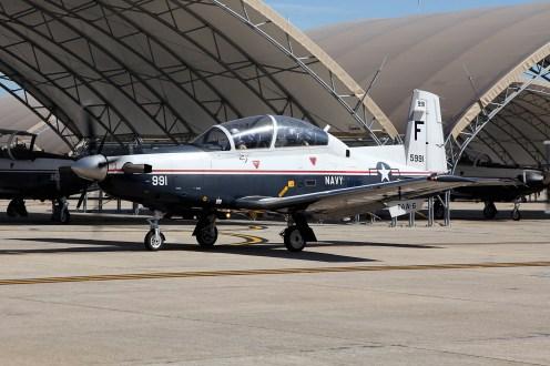 ©Mark Forest - Beechcraft T-6A Texan II 165991 TAW-6 - US Naval Air Training Command