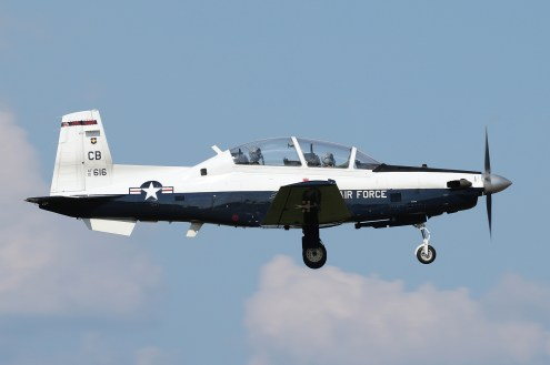 ©Mark Forest - Raytheon Beech T-6A Texan II 01-3616 - US Air Force Air Education and Training Command