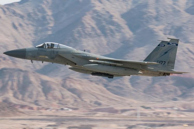 © Kevin Bell - USAF F-15C 86-0177 - Red Flag 17-1