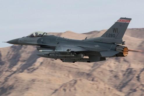 © Kevin Bell - USAF F-16C 87-0280 - Red Flag 17-1