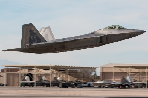 © Kevin Bell - USAF F-22A 04-4067 - Red Flag 17-1