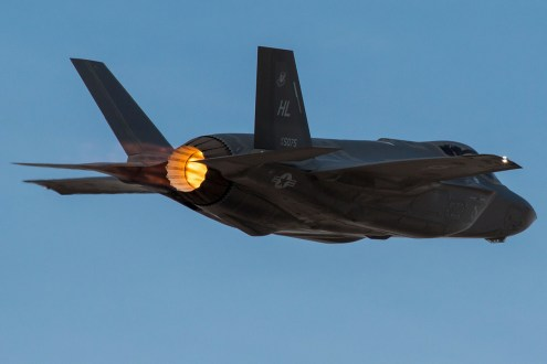 © Kevin Bell - USAF F-35A 13-5075 - Red Flag 17-1