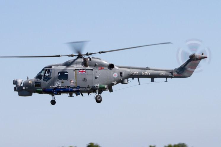 © Adam Duffield - Lynx HMA8 XZ723 with Sea Skua fitted - Royal Navy Lynx Retirement