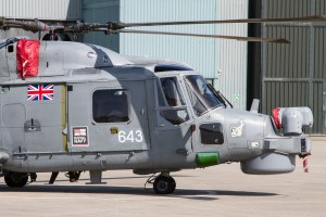 © Adam Duffield - The FLIR and radome built on to the nose of the HMA8 variant - Royal Navy Lynx Retirement