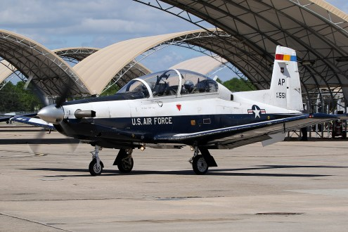 ©Mark Forest - Raytheon Beech T-6A Texan II 99-3551 - US Air Force Air Education and Training Command