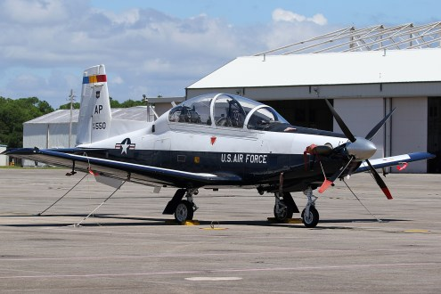 ©Mark Forest - Raytheon Beech T-6A Texan II 99-3550 - US Air Force Air Education and Training Command