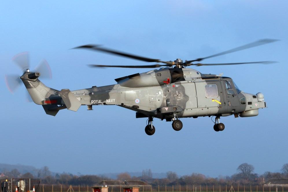 ©Mark Kwiatkowski - Wildcat HM2 ZZ528 - Royal Navy Lynx Retirement