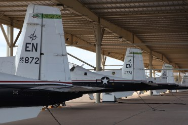 ©Mark Forest - Raytheon T-6A Texan II Flight Line - US Air Force Air Education and Training Command